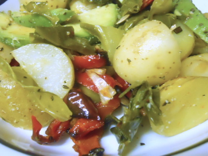 potato & avocado salad