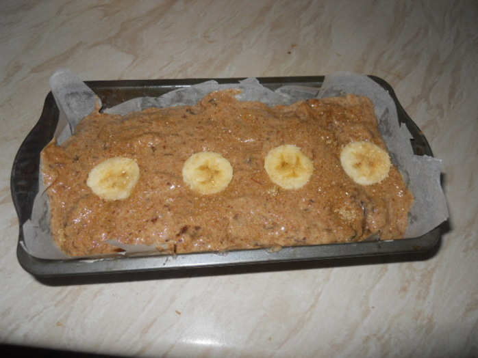 prune and banana cake