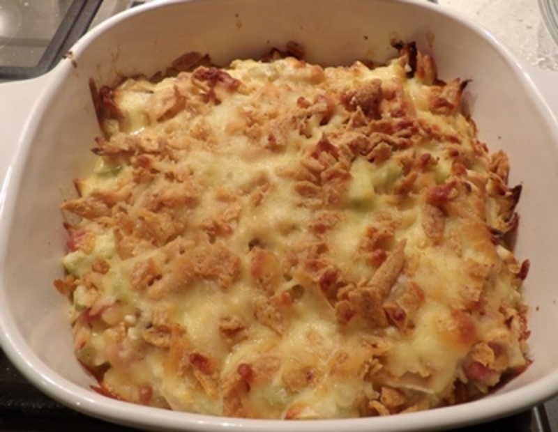 pulled,chicken,turkey,potato,crisp,bake,with,bacon