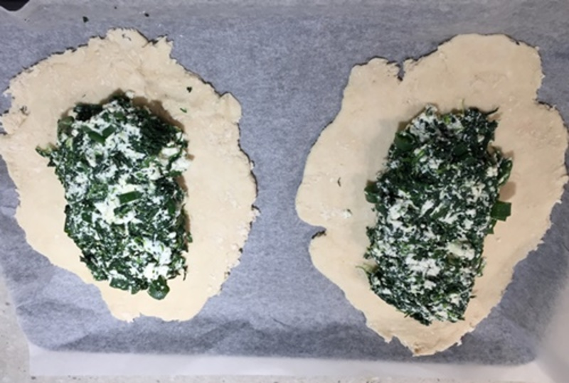 mixed,spinach,and,cheeses  - Spinach, Cheese and Egg Pies