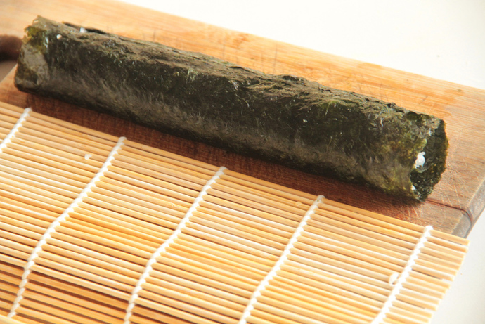 Daikon radish rice, riceless sushi recipe