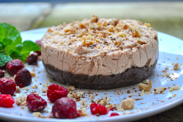 Raw Chestnut Cheesecake Recipe - RecipeYum
