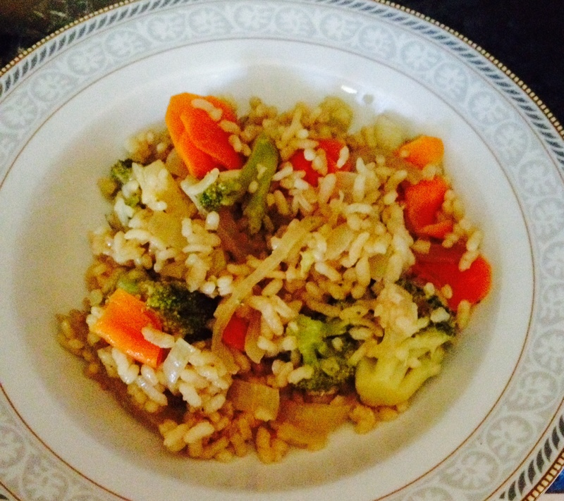 Risotto in a bowl 