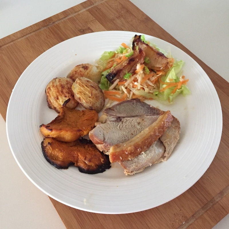 Roast Pork And Apples