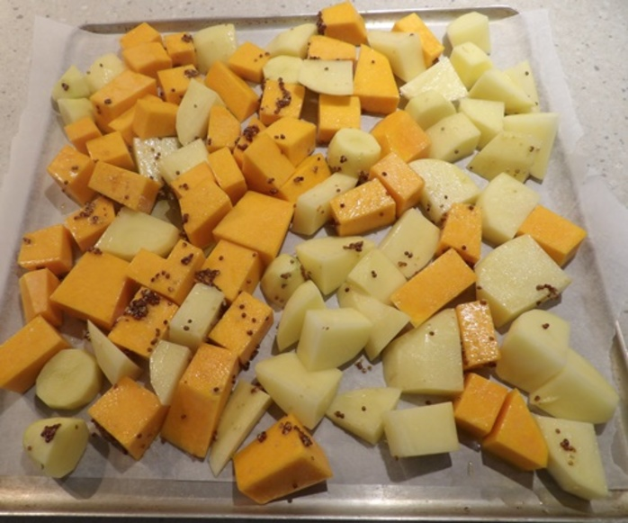 roasting,pumpkin,and,potato