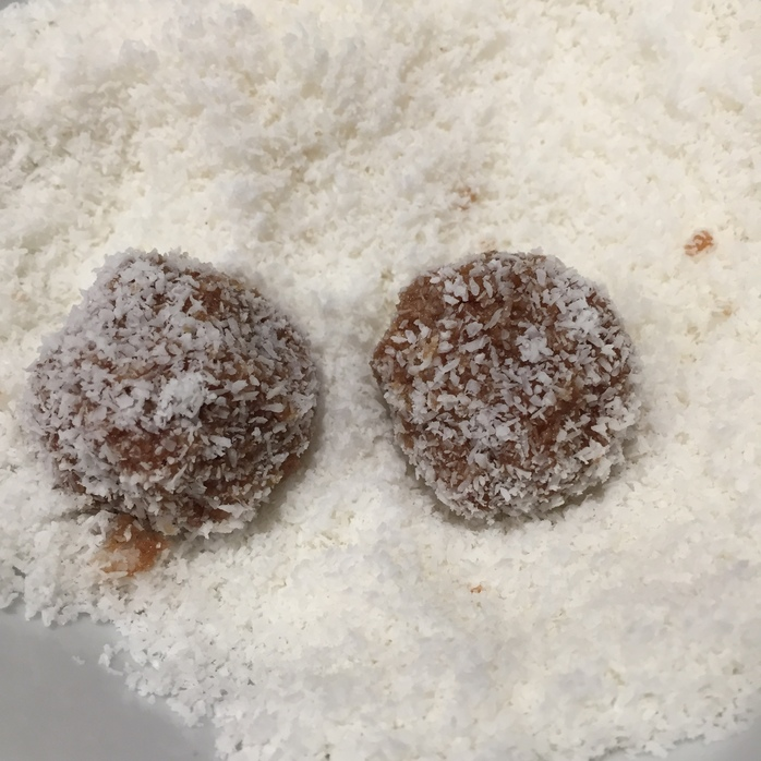Coconut Rough Balls