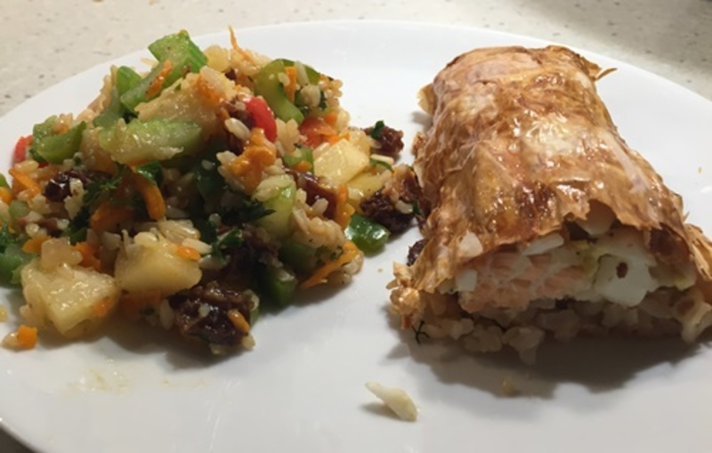 salmon,in,puff,pastry  - Russian Salmon in Puff Pastry