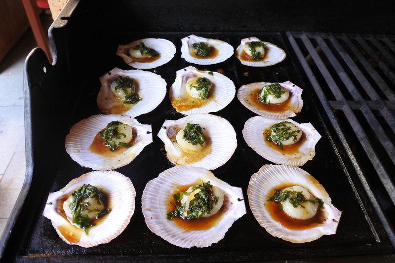 Scallops in Ginger Butter