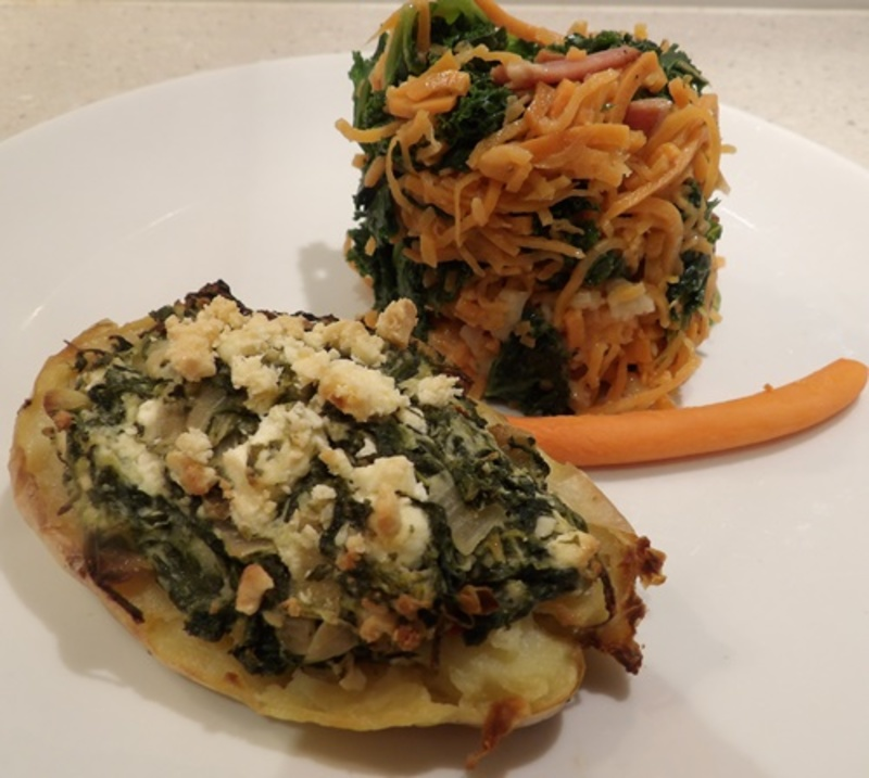 Served,with,sweet,potato,noodles,and,kale