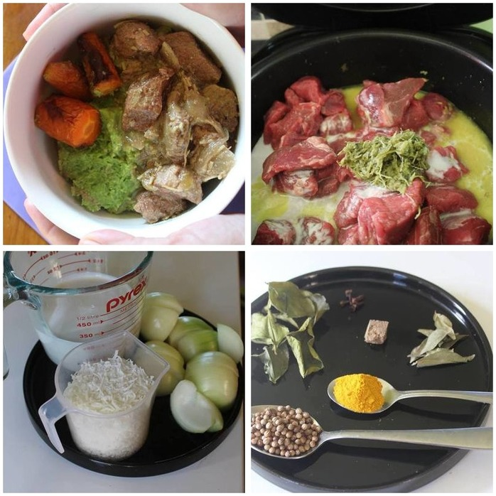 Slow Cooked Malaysian Style Beef Rendang   Montage