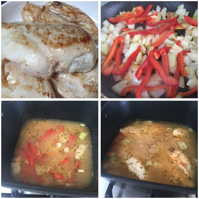 Slow Cooker White Wine Chicken