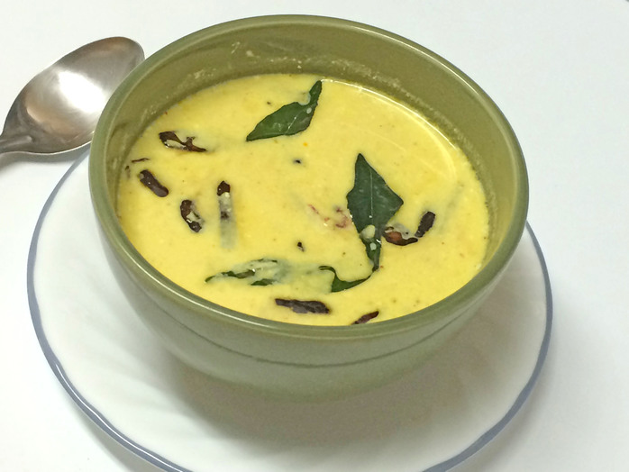 Spiced Yogurt and coconut curry
