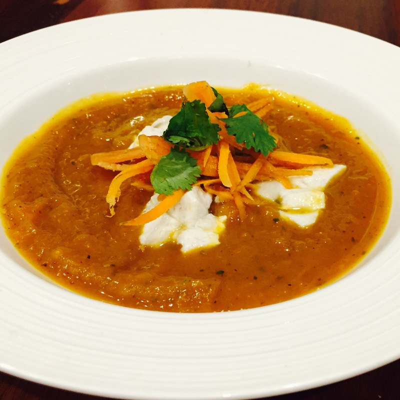 Spiced Pumpkin Carrot Soup