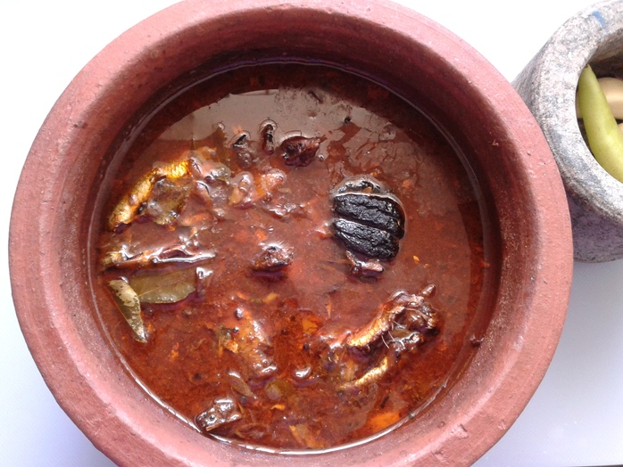 Spicy Kerala fish curry