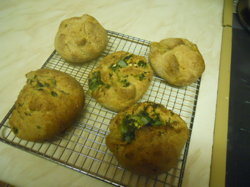 spinach parcels, bread, plate, template, saucer  - Spinach Parcels