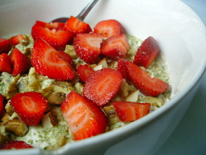 strawberry breakfast, recipe