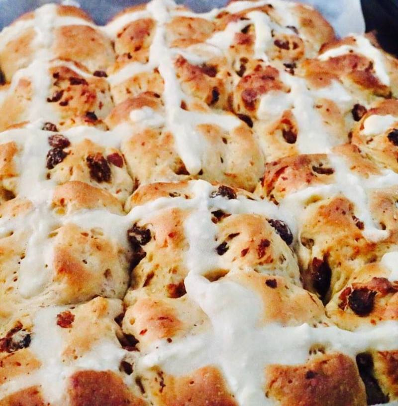 Sultana Hot Cross Buns