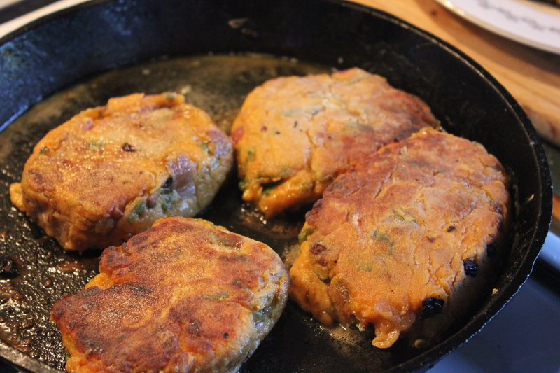 sweet potato patties, vegetarian patties, sweet potato recipe