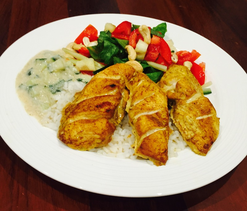 Tender Tandoori Chicken And Raita