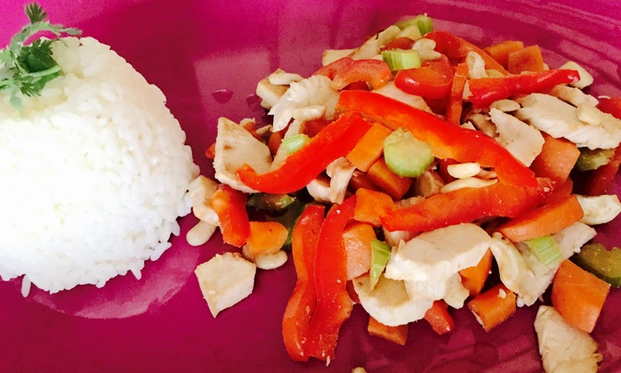Thai Chicken and Cashew Stir Fry