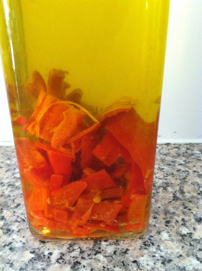 Chilli Oil and Garlic Oil- two staples in my kitchen