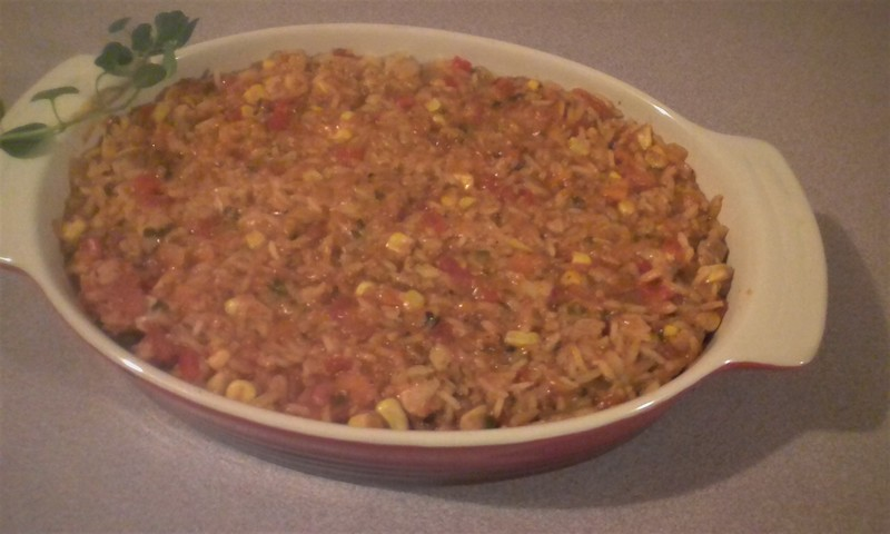 Transfer to a large baking dish.
