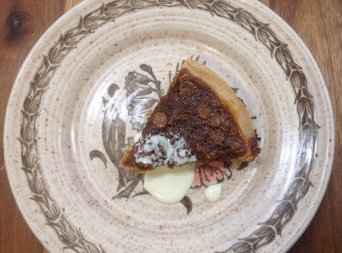 Treacle tart, Scottish porridge oats