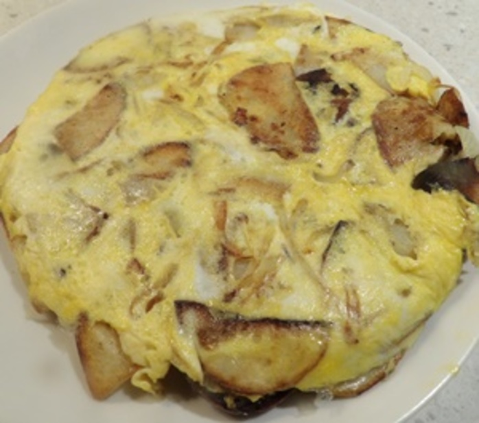 turning,omelette,over