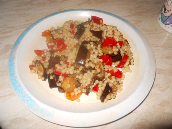 vegetable, cous cous
