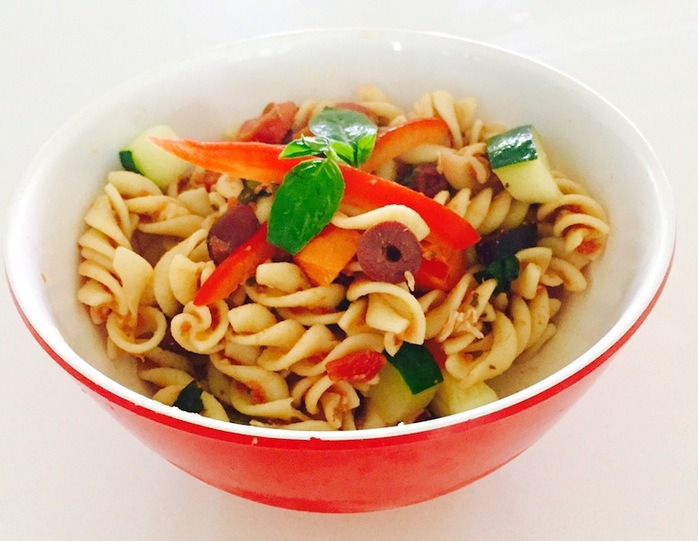Vegetable And Kalamata Olive Pasta flavour bomb