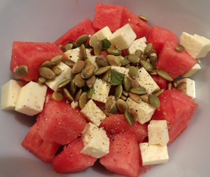 watermelon,salad,with,feta,and,sunflower,seeds