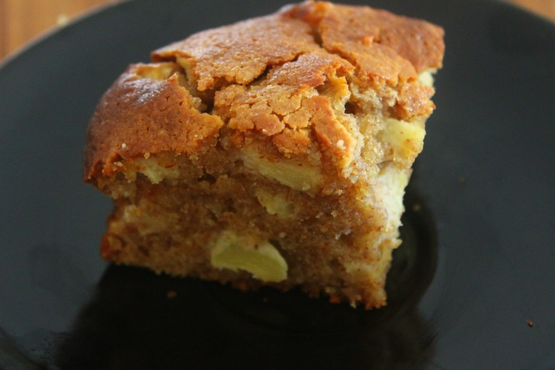 Gluten Free and Refined Sugar Free Apple Cake