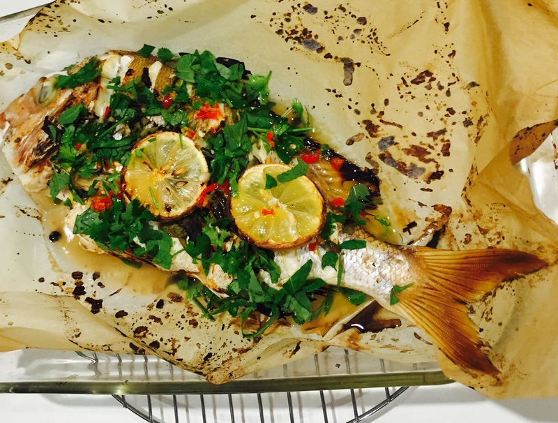 Whole Thai Snapper  - Whole Baked Thai Snapper