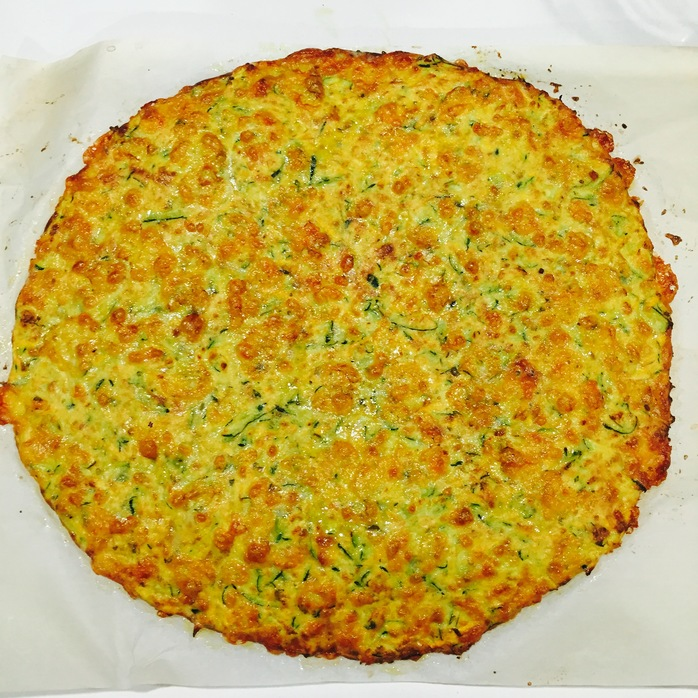 Zucchini And Sweet Potato Pizza Base