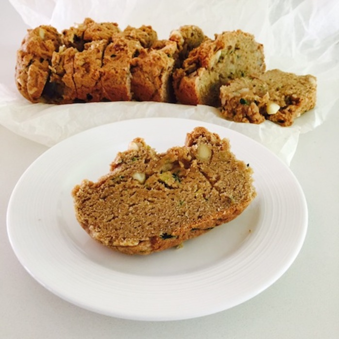 Zucchini Bread And Macadamias