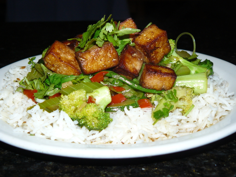 Healthy Vegetarian Stirfry