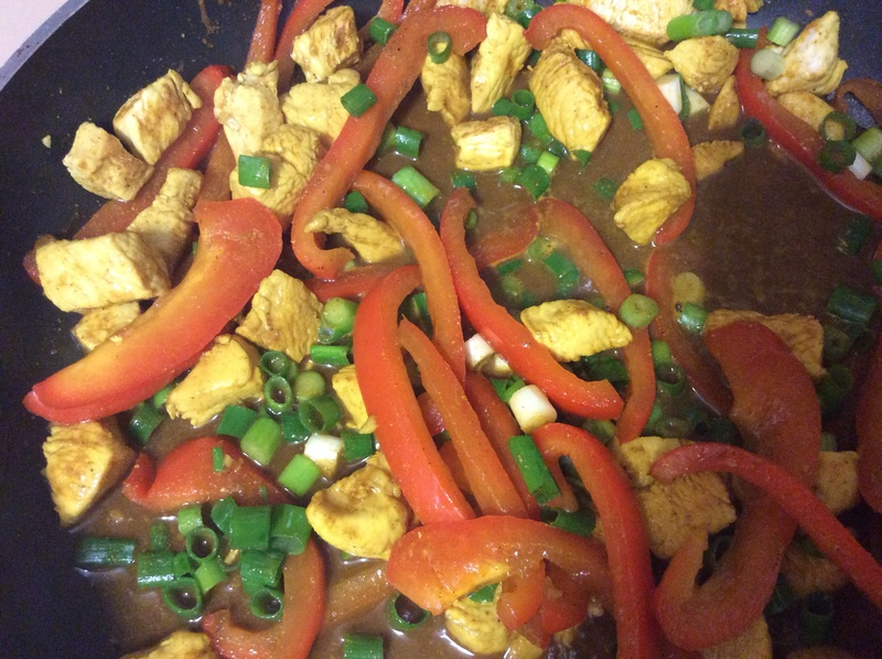 Curried Chicken Singapore Noodles