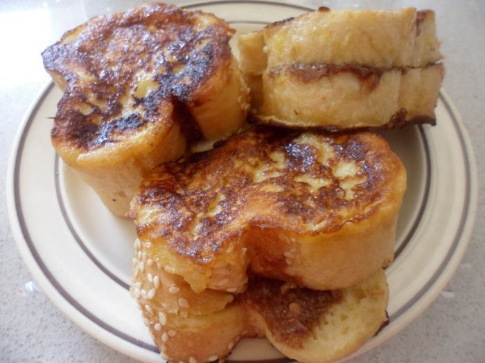 Chocolate Filled French Toast Minis