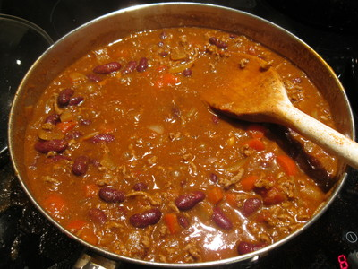 Finished Chili Con Carne
