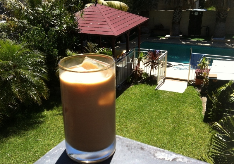 Ice coffee, iced coffee, cool drink, refreshing drink