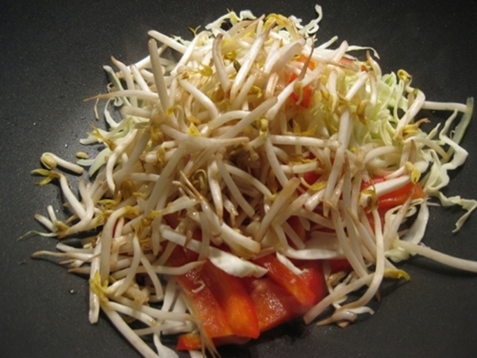 adding,bean,sprouts