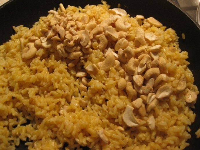 rice,with,cashews