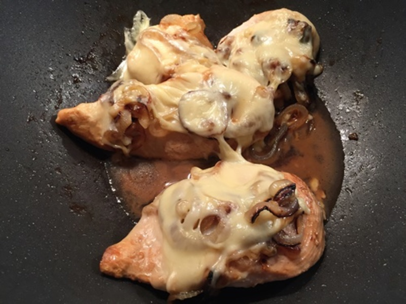 cooking,caramelised,onions  - Chicken with Caramelised Onions