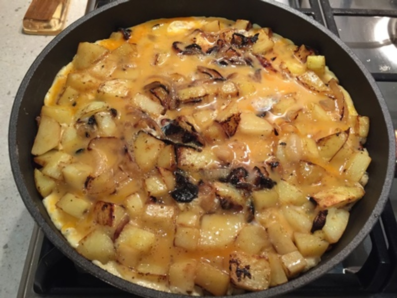 cooking,potatoes  - Easy Spanish Omelette