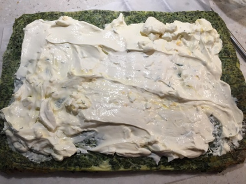 mixing,spinach