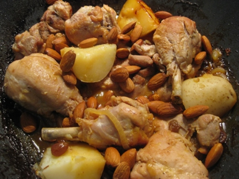 draining,browned,chicken,pieces