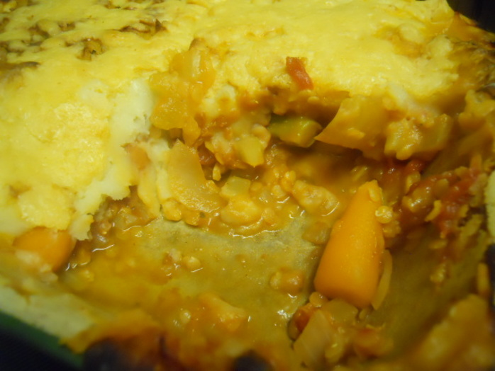 allotment pie, vegetable pie