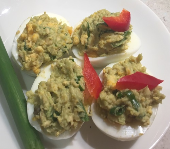 avocado,eggs