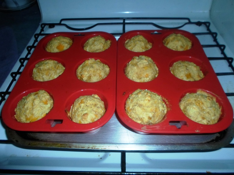 Baked muffins  - Apricot And Coconut Muffins