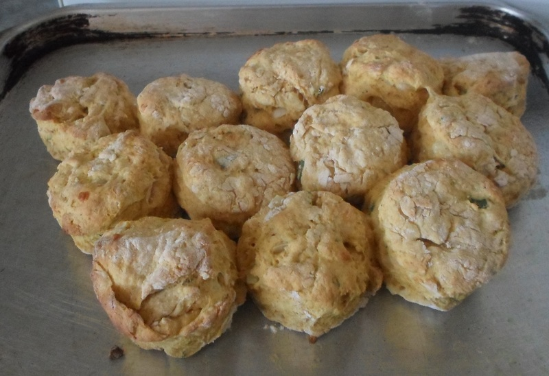 Pat Out Scones
